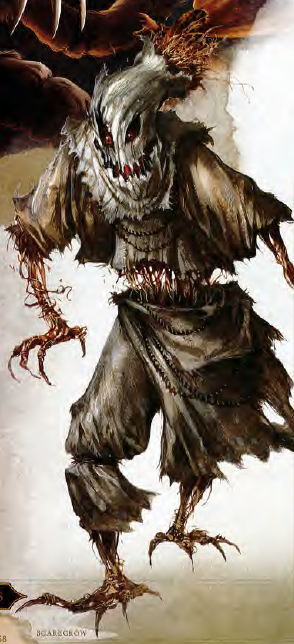 5th Edition D&D Monster Manual Scarecrow